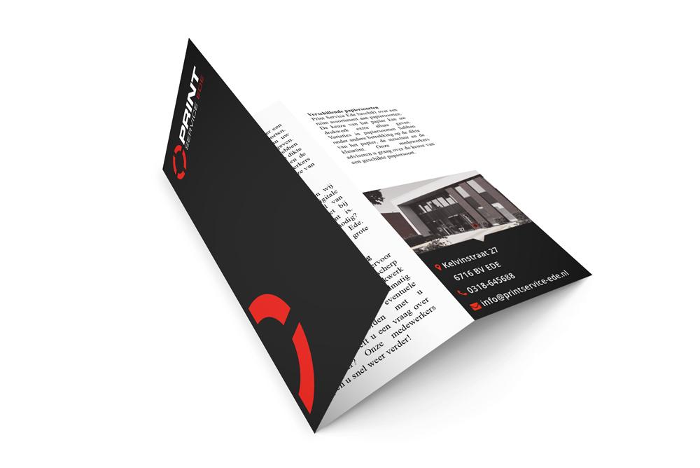 folders en flyers drukken