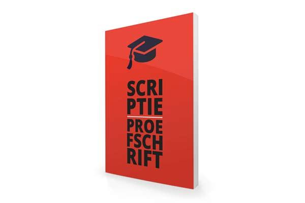 Proefschrift drukken, Scriptie drukken