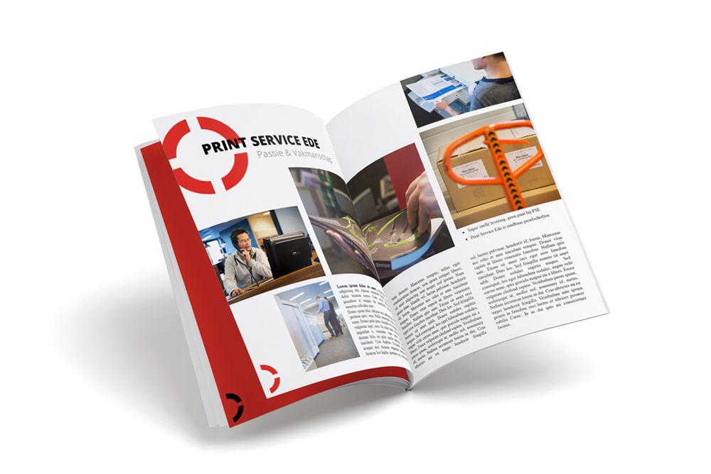 Tijdschrift printen/drukken